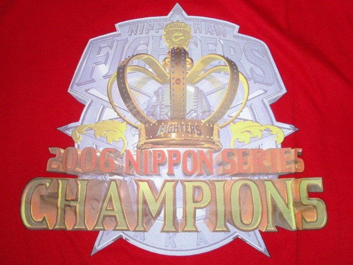 貳拾肆棒球-日本帶回日職棒日本火腿日本一總冠軍冠軍T.Mizuno製作
