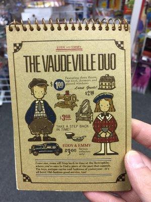 1988年 The Vaudeville Duo 狗男女 Eddy & Emmy 單行簿 Sanrio