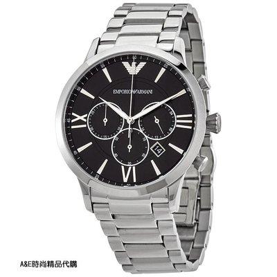 A&E精品代購EMPORIO ARMANI 阿曼尼手錶AR11208經典義式風格簡約腕錶 手錶