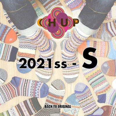 BTO 日本【CHUP】S號 2021春夏長襪 Hand Linking 傳統製法民族風精品襪