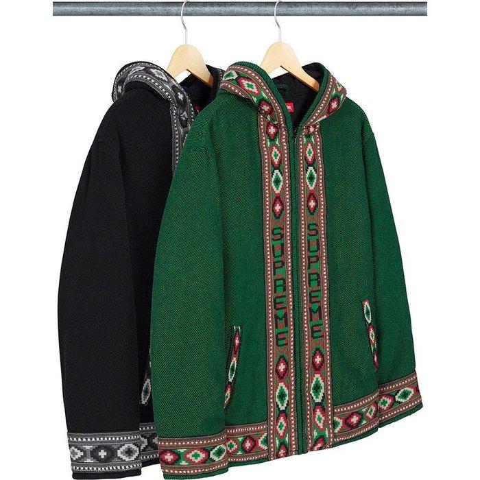 【紐約范特西】預購 Supreme SS20 Woven Hooded Jacket 機織 民俗風 連帽 外套