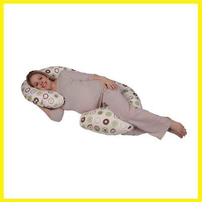 現貨 代購Snoogle Leachco Organic Smart Body Pillow 孕婦專用抱枕托腹枕 有機棉