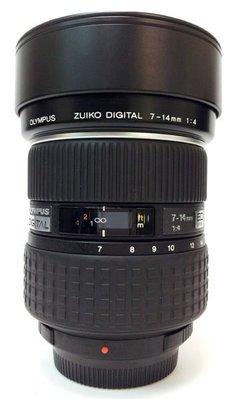 @佳鑫相機@(中古託售品)OLYMPUS ZUIKO DIGITAL 7-14mmF4 ED 廣角變焦鏡 4/3系統相機