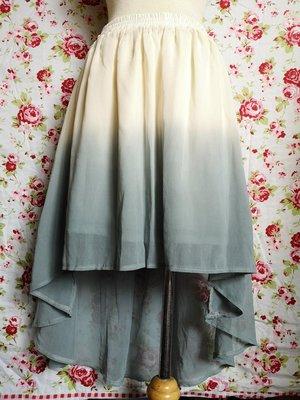 *Vi宅* 澳洲TEMT 雪紡裙 漸層藍