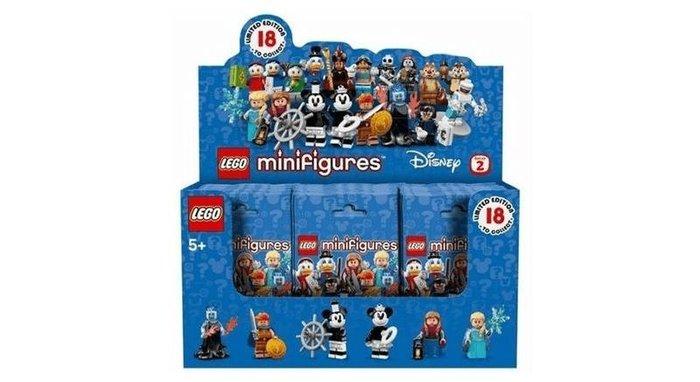 【W先生】LEGO 樂高 積木 玩具 迪士尼人偶包2 一箱60包 全新未拆 原箱 附外盒 71024