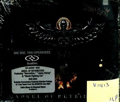 *真音樂* JUDAS PRIEST / ANGEL OF RETRIBUTION 全新 K12613 (下標賣)