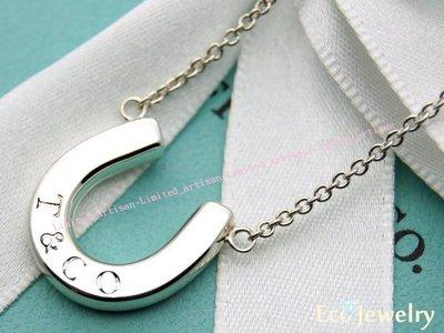 《Eco-jewelry》【Tiffany&Co】經典款 馬蹄項鍊 純銀925項鍊~專櫃真品已送洗