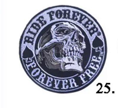JHS((金和勝 生存遊戲專賣))永遠自由 魔鬼氈 刺繡臂章 9067-13