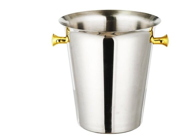 ☼ 歐式豪華香檳桶 5L 不銹鋼冰桶 紅酒桶 啤酒桶 葡萄酒桶  蘭姆酒桶 冰酒桶 冰塊保溫桶 酒吧酒具