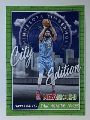 2020-21 Panini NBA Hoops City Edition Karl-Anthony Towns