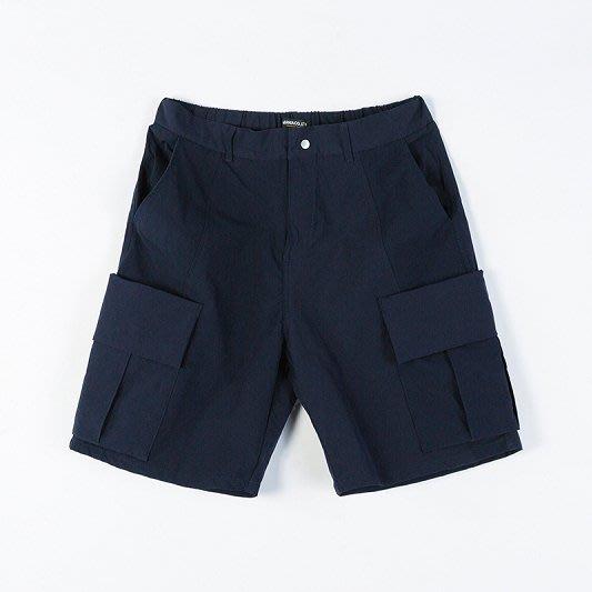 [NMR] MANIA 休閒短褲 彈性布料 19 S/S Resiliently Cargo Shorts