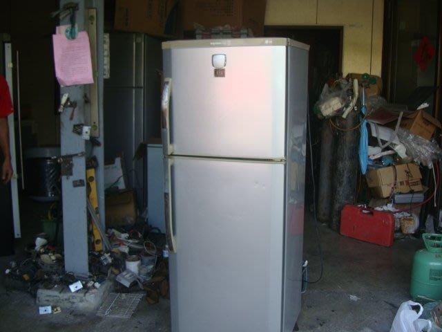 電器醫生/二手*LG樂金雙門電冰箱198L,自取 特價5300元!為自行到店載運價格