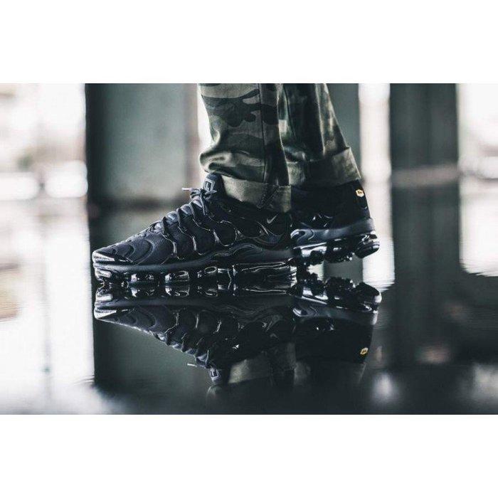 Nike Air VaporMax Plus Triple Black(924453-004)休閒慢跑運動鞋男女