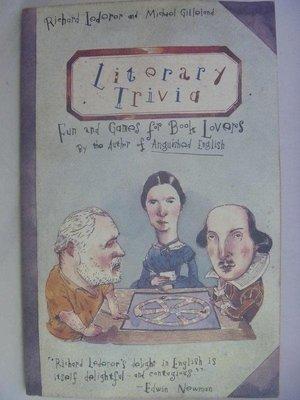 【月界2】Literary Trivia:Fun & Games for Book Lovers 〖外文小說〗ADC