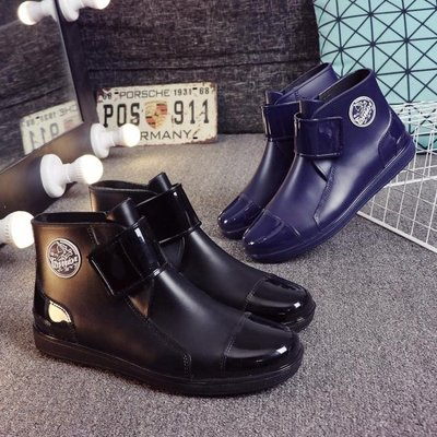 雨鞋男 水鞋雨靴男士低筒短筒夏季防滑廚房工作鞋洗車釣魚膠鞋