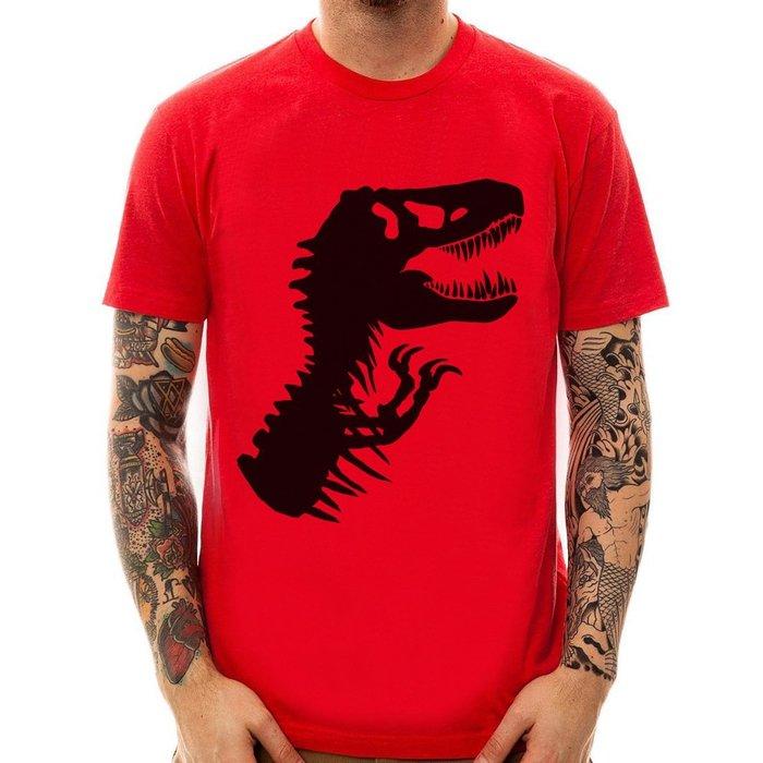 T-Rex Skeleton短袖T恤3色 暴龍肋骨恐龍侏儸紀公園侏紀羅世界電影Jurassic t 390 美國版型