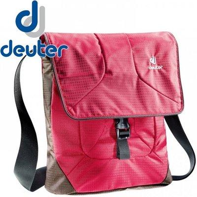 丹大戶外 【Deuter】德國 APPEAR 側背包 肩背包 莓紅/咖啡 85033