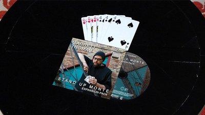 【天天魔法】【S913】正宗原廠~賭徒三張牌(擴張版)(Stand Up Monte Expansion Pack)