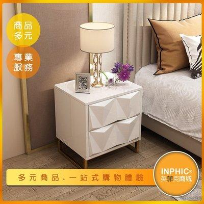 INPHIC-歐式雙層床頭櫃/收納櫃/小矮櫃-IAEA00110BA