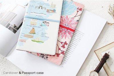 米塔手帳~Mita~~#273019~護照夾 ~ 旅行地圖 白色  收納整理 可放旅遊筆記本共用