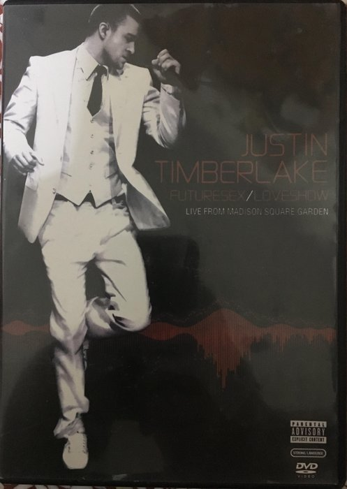《進口99%新》Justin.Timberlake 賈斯汀 FutureSex.LoveShow 麥迪遜花園演唱會