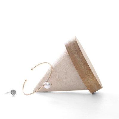 hello小店-天然竹木圓錐形手鐲展示架珠寶首飾陳列道具手表手鏈手串托座#飾品架#展示道具#