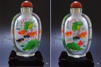 金玉滿堂中國禮品商務出國禮品中國風擺件送長輩禮品內畫鼻煙壺可定制 壺說94