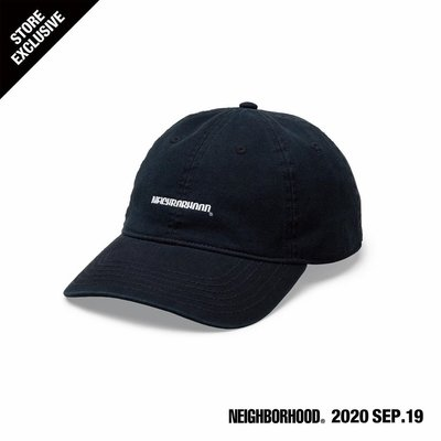 【日貨代購CITY】2020AW NEIGHBORHOOD CI / C- CAP 原宿開幕限定 帽子 老帽 現貨