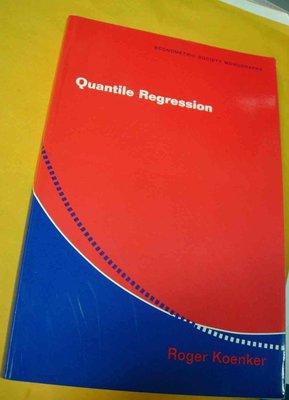 Quantile Regression koenker 9780521608275分量回歸分析統計學計量經濟學z3