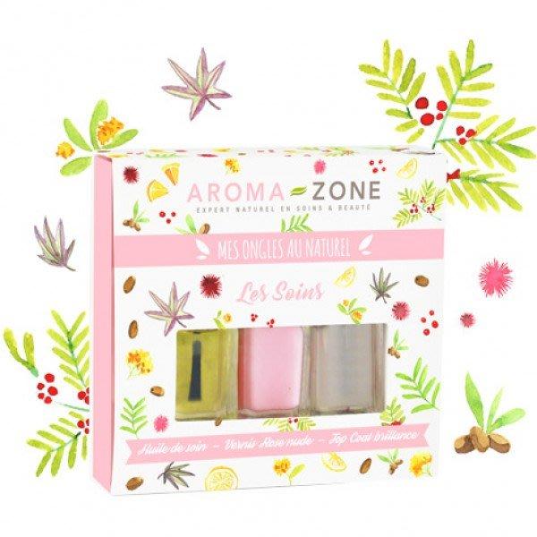 現貨 / 天然護甲油禮盒組 / 法國Aroma-Zone
