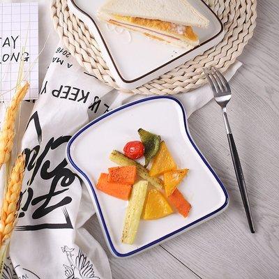 有一間店-網紅創意陶瓷 面包盤子 北歐家用早餐盤ins吐司盤小吃盤 出口(規格不同 價格不同)