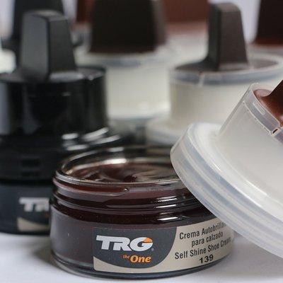 西班牙TRG皮革護理乳霜 一擦亮鞋油黑深棕棕無色皮革補色油優惠推薦(規格不同價格也不同下單詢價哦)@xi02129