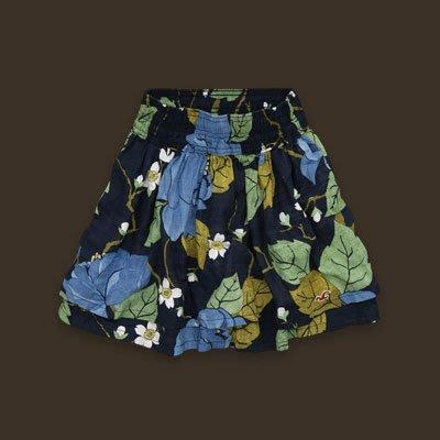 Debbies World 『Hollister 藍色花朵短裙(Free Size)』
