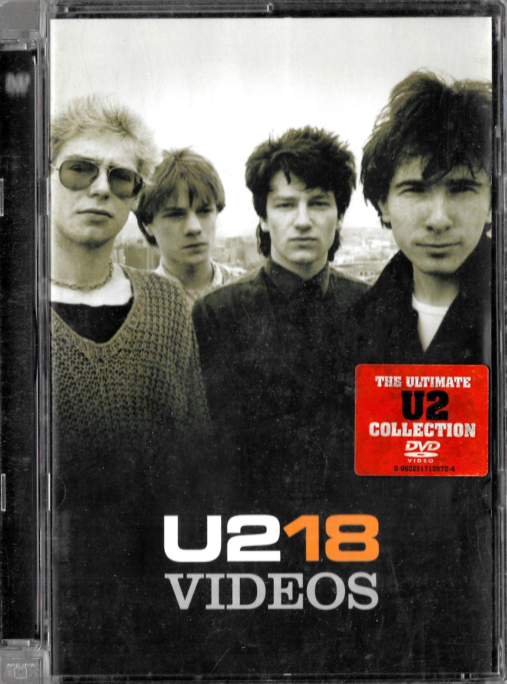 U2合唱團 / 18VIDEOS DVD