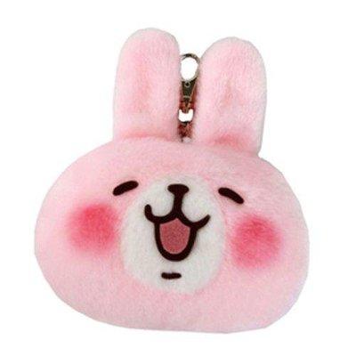 尼德斯Nydus~* 日本正版 卡娜赫拉的小動物♡ 可愛萬物論 P助 粉紅兔兔款 零錢包 可伸縮 悠遊卡夾