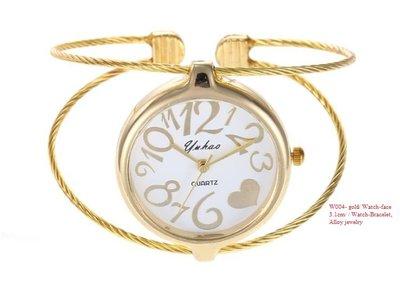 Fashion Watch-Bracelet (Gold color) (Goldjoyce)
