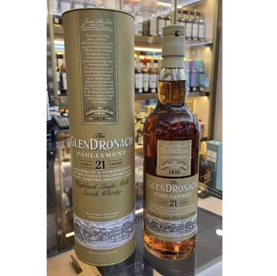 The GlenDronach Parliament Aged 21 Years Old