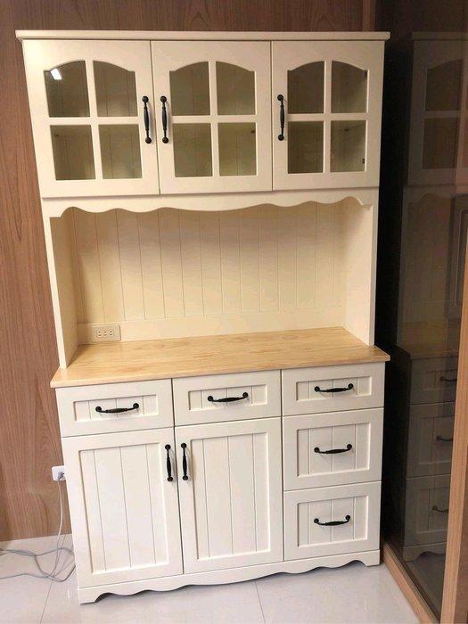 戀戀小木屋  法式款餐櫃 原木餐櫃 客製款餐櫃