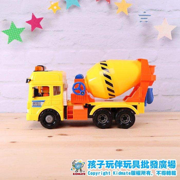 磨輪水泥車.台灣好車隊.工程系列.磨輪車.仿真.孩子玩伴