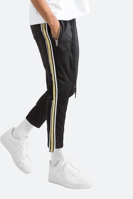 ☆AirRoom☆【現貨】2018AW MNML CROPPED TRACK PANTS 運動 條紋 長褲 4色 金蔥