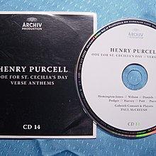 [德國原版古典光碟]Gabrieli Consort Purcell: Hail, Bright Cecilia!