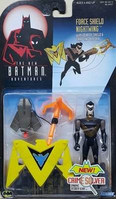 全新 KENNER BATMAN 蝙蝠俠 FORCE SHIELD NIGHTWING 夜翼