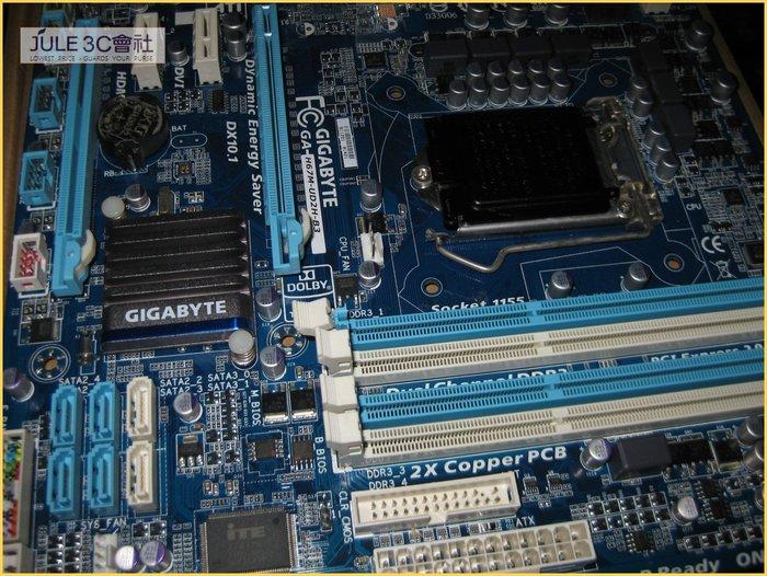 JULE 3C會社-技嘉 H67M-UD2H-B3 H67/DDR3/U3S6/超耐久/良品/MATX/1155 主機板