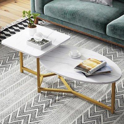 全店免運 茶幾簡約現代創意沙發邊幾小桌子鐵藝臥室客廳陽臺小戶型小茶桌 可開發票