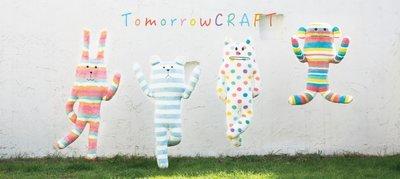 [日本空運全新現貨] 宇宙人 Tomorrow CRAFT 明日系列 束口袋 Tomorrow LORIS 彩虹條紋猴