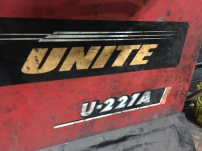 拆胎機修護 上海巴兰仕 优耐特 UNITE U-221A 修護 零件 配件 都可詢問