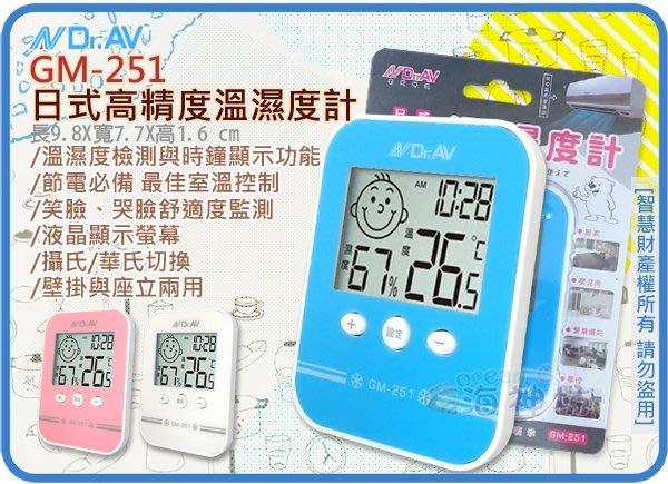 =海神坊=GM-251 日式高精度溫濕度計 溫度/濕度/時間 防潮箱 環境管理監測 壁掛/座立 12入2050元免運