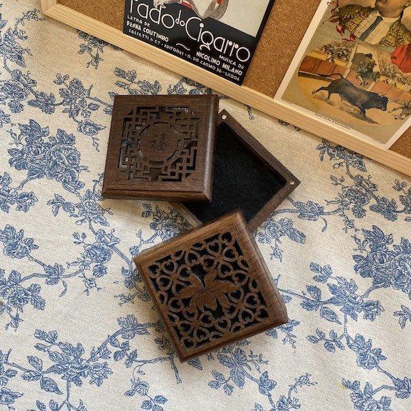 【佛讚嘆】雞翅木盤香盒 4小時以下可用 內附一片防火棉 盤香爐 盤香盒 微盤爐 星洲 惠安 老山