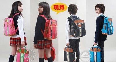 BHB043-韓國進口WINGHOUSE韓劇童星愛用品牌 RAPA CLUB 氣質風小學生書包 背包 雙肩包