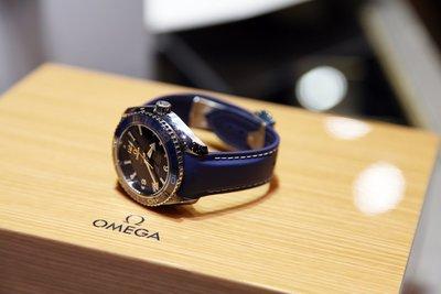 拍賣唯一全新現貨 OMEGA SEAMASTER PLANET OCEAN 600M 鈦海馬 陶瓷錶圈 液態金屬